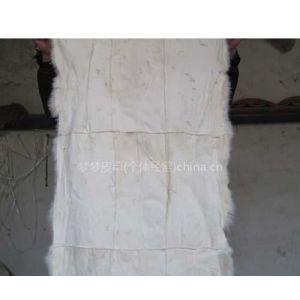 供应各种兔皮褥子,正皮,披皮,材料子,脖头.