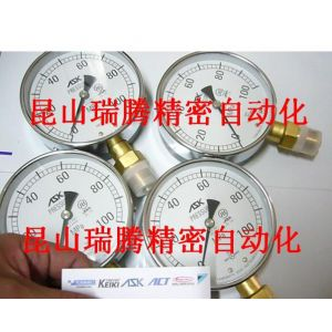 供应日本ASK抗震压力表,径向,100mm