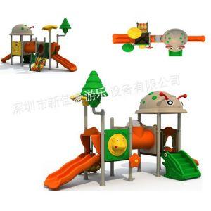 供应深圳小区公共娱乐设施,公用娱乐玩具,小区儿童滑梯厂家