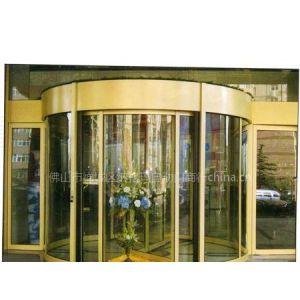供应佛山旋转门型材 铝合金两翼感应大门酒店豪华入口旋转门整套门