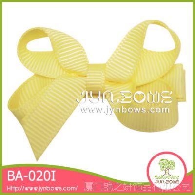 素色蝴蝶结发夹 韩版儿童发饰头饰 现货特价促销