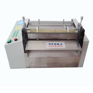 供应PP片材切割机 切PVC片材裁切机 切耐磨pvc塑料片材机器 刀口平整
