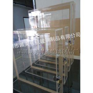 供应有机玻璃箱子 亚克力透明展示箱 压克力防盗盒