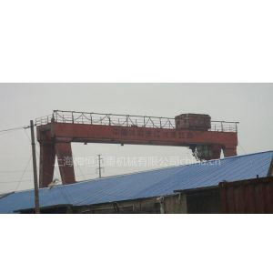 供应30吨30米跨18米高二手双梁龙门吊二手行车