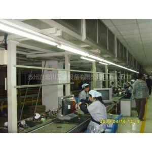 吉宏川供应电视机生产线,链板输送线,皮带流水线,差速链流水线
