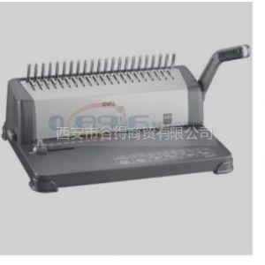 供应得力(Deli)3872-渐进式打孔胶圈装订机(灰)