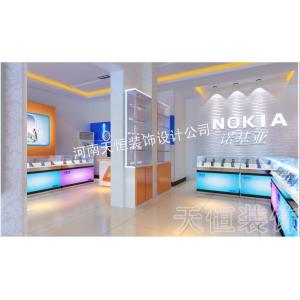 供应郑州手机数码店装修设计怎么经营才算好,专业的手机数码店装修设计公司