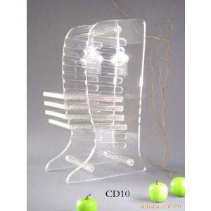 供应深圳有机玻璃制品专业生产加工,亚克力CD架,光蝶架,展示架