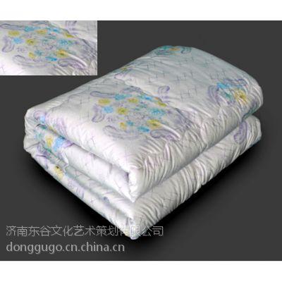 供应济南欧斯情品牌家纺礼品厂家 床上用品羊绒被价格批发