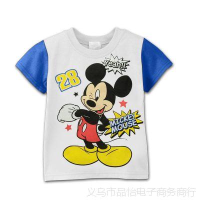 2013年迪斯啊尼爆款儿童短袖体恤 儿童迪斯啊尼背心 T恤 童装上衣