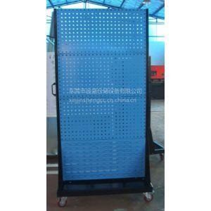 供应厂家直供泽普物料架移动五金工具整理架百叶板零件盒物料架