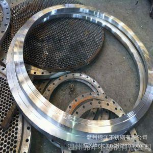供应专业定制 不锈钢法兰 大口径高颈法兰 压力法兰