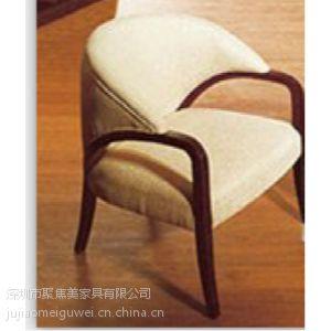 供应西餐厅家具 西餐厅围椅 实木材质 深圳聚焦美家具供应