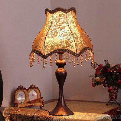 温馨床头装饰台灯学习书房婚庆礼品新婚美式欧式儿童台灯