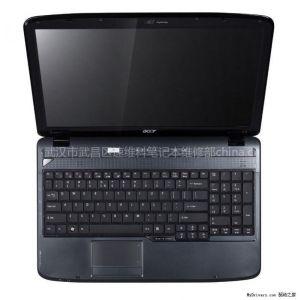 供应电脑被小孩的手拍了一下就红屏了,武汉宏基笔记本维修