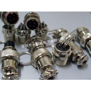 供应山西厂家生产民用专利90度插板航空插座4芯省时省端子线,并且焊接牢固