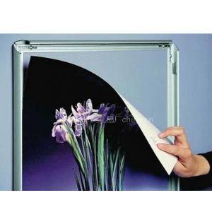 供应铝相框,铝合金海报框,四边开启铝相框