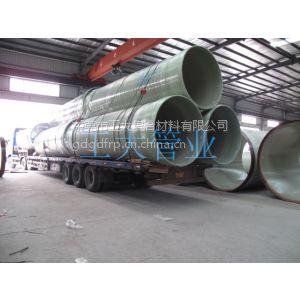 供应玻璃钢夹砂排污管压力