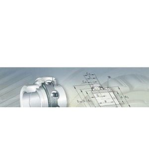 供应德国INA向心插入式球轴承207KRR