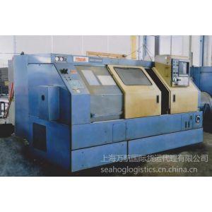 供应南通通州区二手气流纺纱机进口报关#上海AA资质旧设备进口报关代理公司