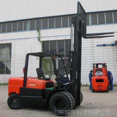 山东山东厂家直销港口装卸搬运机械5吨柴油叉车,价格优惠