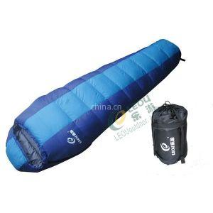 供应供应羽绒睡袋 户外用品 野营装备 保暖睡袋 户外露营 露营睡袋