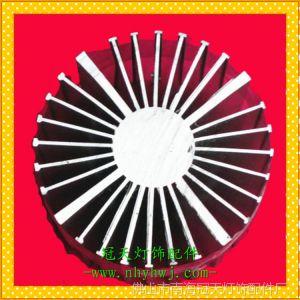 供应【冠天】大功率LED工矿灯散热器型材铝合金材优质工业异型材107号