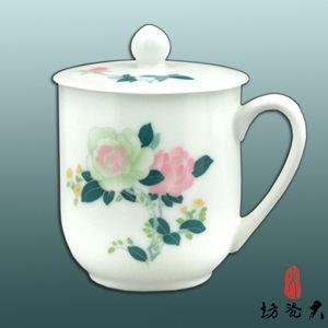 供应常委杯|陶瓷会议杯|高档陶瓷茶杯|醴陵瓷器