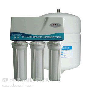 50G手动纯水机 家用净水器 家用反渗透纯水机