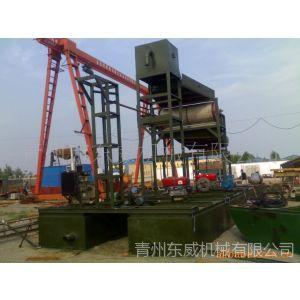 供应陕西河道抽沙选铁设备-抽沙船加装磁辊铁砂船,业务电话15163648878