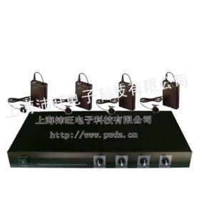 供应沛旺W-V4一拖四无线麦克风/无线话筒/会议系统/无线领夹式耳麦