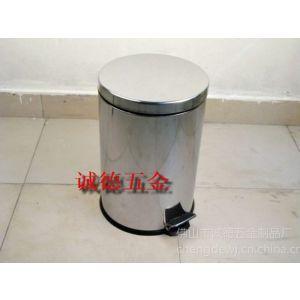 供应不锈钢家居清洁用具垃圾桶,喷塑脚踏垃圾桶