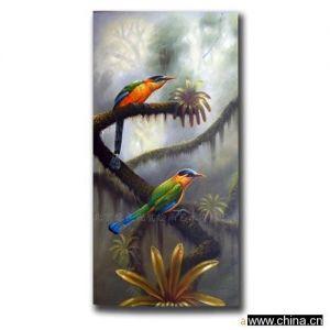 供应高档油画-动物系列(鸟类)