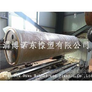 供应淄博诺东生产外直径500mm超耐磨聚氨脂滚筒