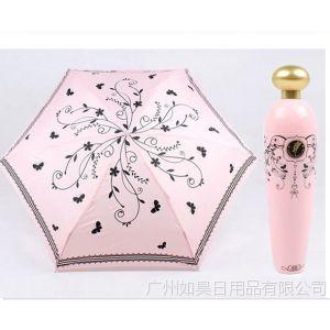 供应广东货源 厂家直销创意香水瓶伞 瓶装小雨伞 淘宝热卖 礼品定制
