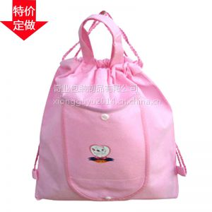 供应厂家定做无纺布收口袋 手提袋 广告袋免费提供样品
