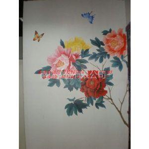 供应南昌彩绘手绘彩画背景墙电视墙,南昌品牌!