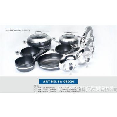 供应欧式不锈钢厨具 不锈钢锅 平底汤锅 加工制造 广东三A品牌厨具
