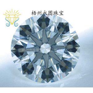 供应直销优质八心八箭锆石 人造宝石