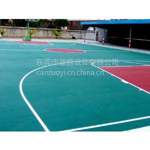 供应东莞硅PU篮球场施工/珠海金湾篮球场地胶铺装/专业球场工程承包