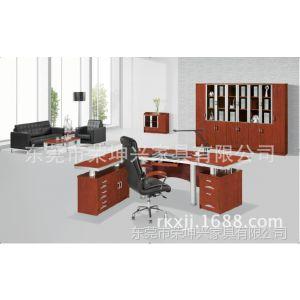 供应厂家直销 量大价优钢制经理桌 钢木老板办公班台 总裁办公桌
