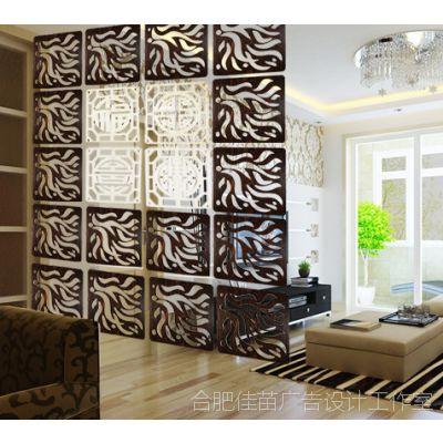 创意卧室玄关时尚创意隔断挂式木艺雕刻镂空雕花木质屏风