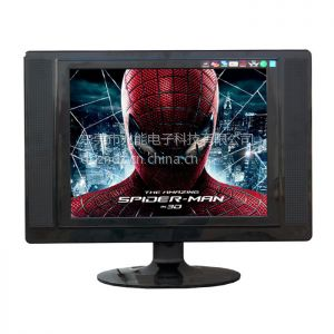 供应豫冠15寸正屏窄边液晶平板电视/显示器