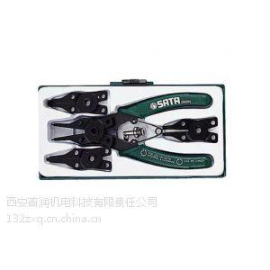 供应西安世达工具09251-5件套卡簧钳