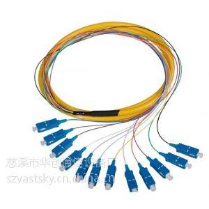 供应12芯束状尾纤 特供电信级SC束状尾纤