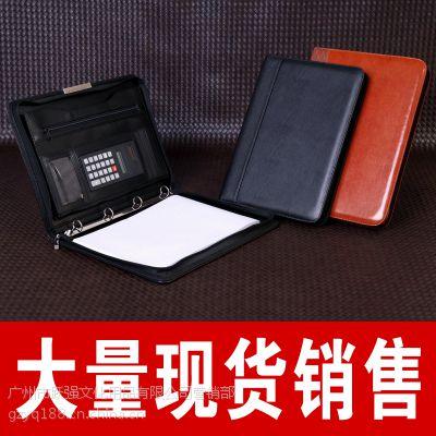 【大量现货】高中档高务PU经理夹 计算器文件夹