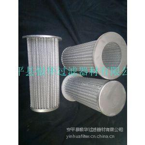银华供应不锈钢折叠滤筒、反冲洗不锈钢折叠过滤筒、熔体过滤滤筒、折叠式熔体滤筒