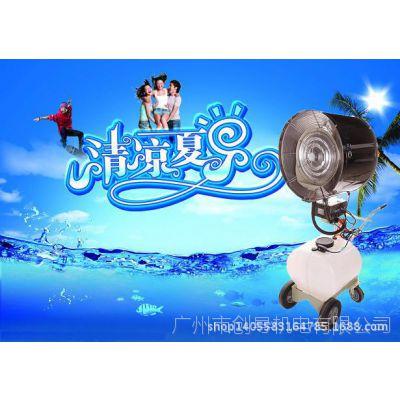 【热销】GZ560S/S养殖用摇摆喷雾风机,喷雾降温风扇