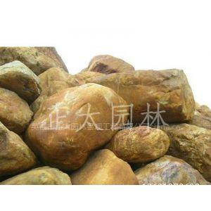 供应英德黄蜡石(黄腊石)黄石水景园景工程石