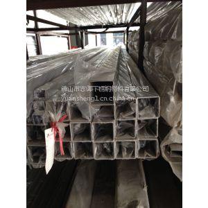 供应304材质不锈钢方通 316L拉丝不锈钢方管
